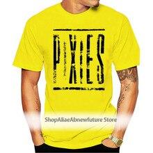 Pixies Distressed Logo T-Shirt - Neu Und Offiziell
