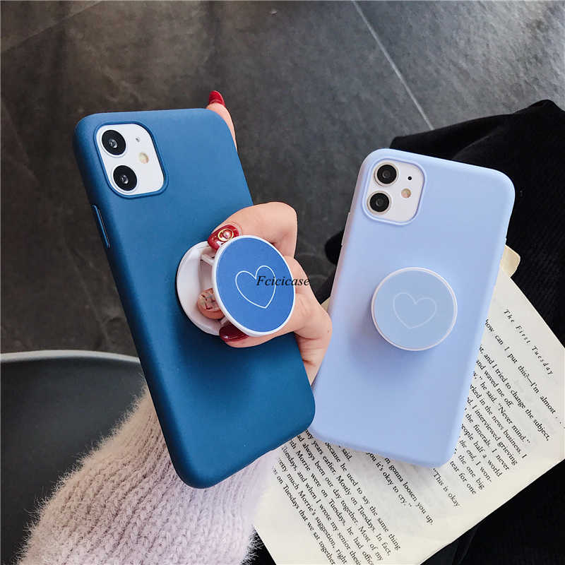 Liefde Standhouder Telefoon Case Voor Xiaomi Redmi Note 8 Pro 7 6 5 8T K30 K20 8A 7A mi 9 Se A3 Lite 9T Pro A1 Covers