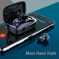 Bluetooth Earphone Stereo Headset With Mic Sports Wireless Earphones For iPhone 7 Xiaomi Honor Huawei Sony Samsung Fone De Ouvid