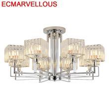 Colgante De Techo Verlichting Hanglamp Industrieel Crystal Loft Deco Maison Suspension Luminaire Lampen Modern Pendant Light
