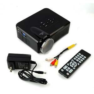 Mini LED Projector with Multimedia for Entertainment with Remote Control