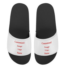 Summer Slippers Flip-Flops Customize Men's Shoes Beach Casual And Print FORUDESIGNS Image