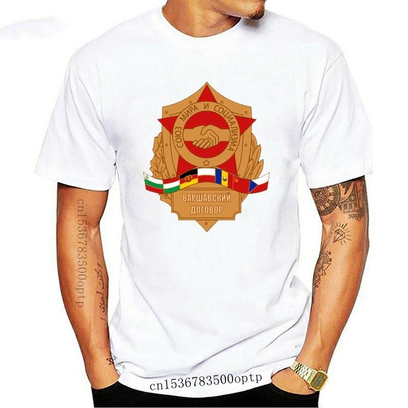T-Shirt warcder Pakt lucida Cccp CSSR Russia Tutte le Taglie Nuovo