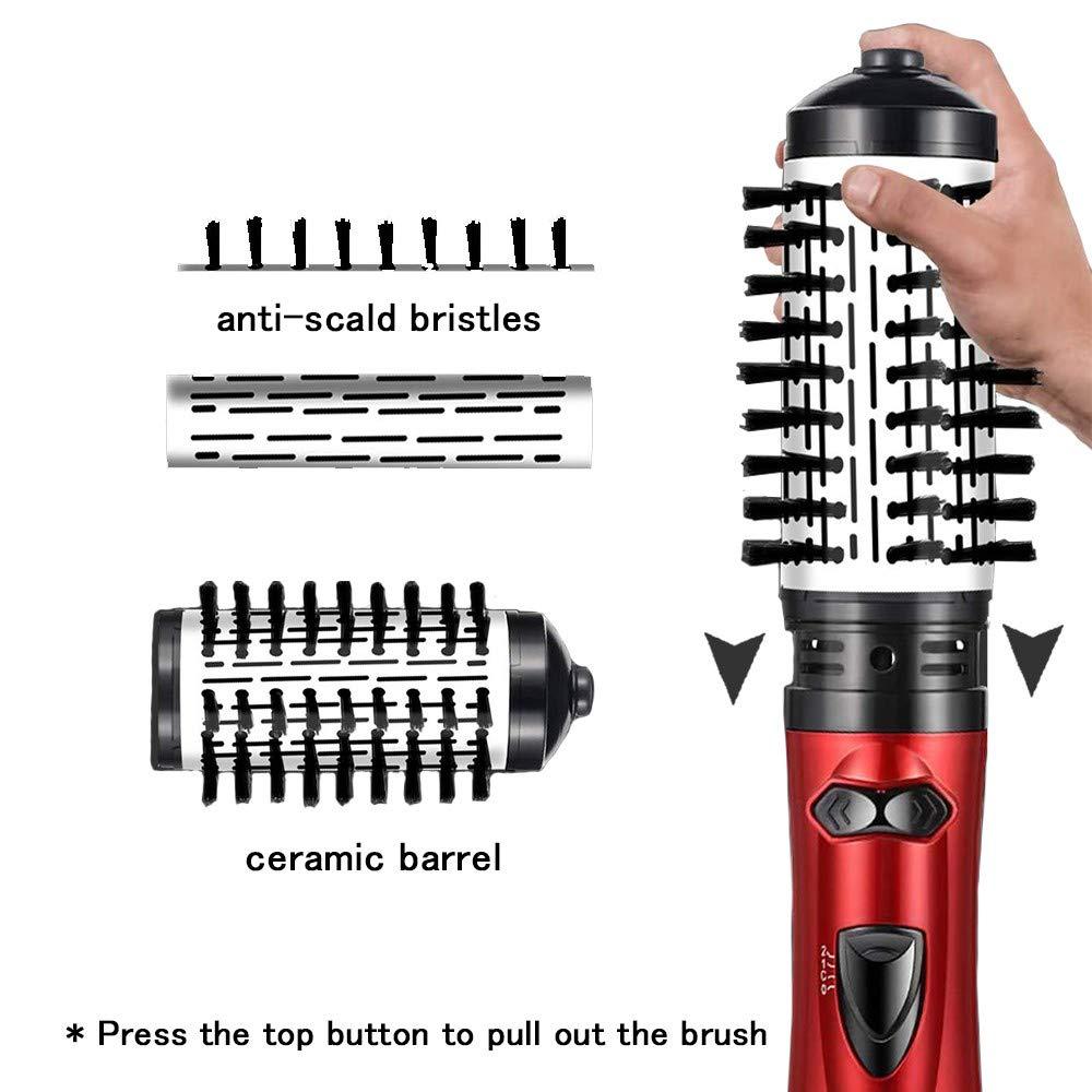 Um-passo secador de cabelo volumizer escova de