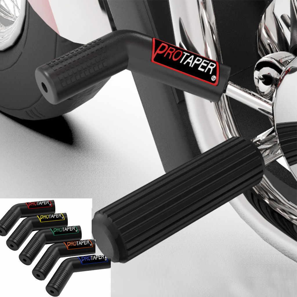 Kauçuk Shift kol kapağı motosiklet yumuşak asılı koruma kollu kalınlaşmak Scooter motosiklet dişli Shifter Boot ayakkabı çantası