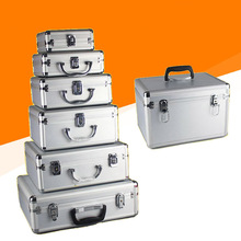 Box-Equipment Tool-Box Case Suitcase-Instrument Aluminum-Alloy Sponge with Cosmetic