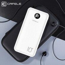 Cafele usb type C внешний аккумулятор 10000 мАч Внешний аккумулятор портативное зарядное устройство для iPhone xiaomi samsung 10000 мАч повербанк