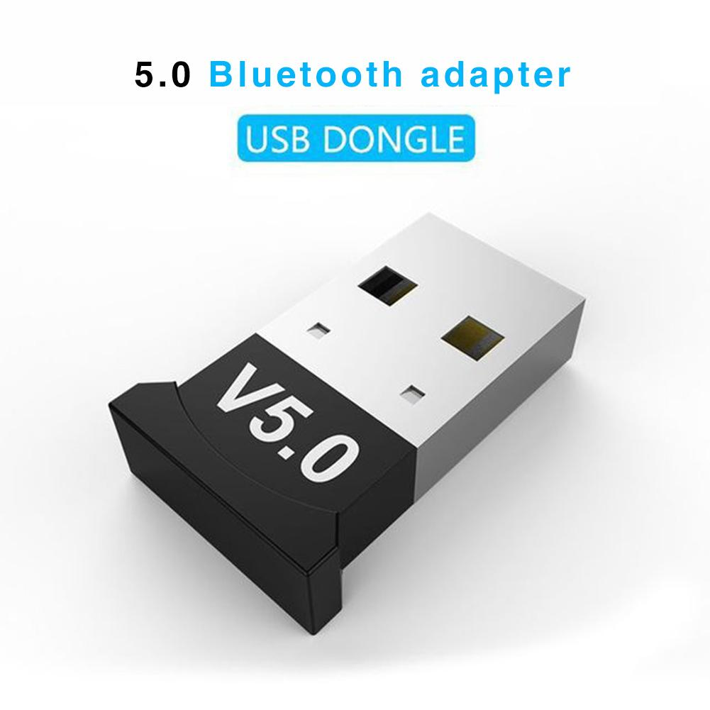 Bluetooth Adapter 5.0 USB Desktop Computer Free Drive Bluetooth Audio Receiver Dongle Music Audio Receiver Transmitter Windows