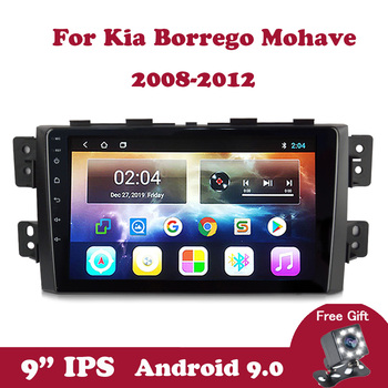 Android 9  For Kia Borrego Mohave 2008 2009 2010 2011 2012 AutoRadio Multimedia Stereo Player Audio Auto Car Radio Support SWC