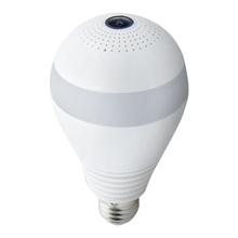 MOOL P kamera Wifi 360 ° kamera Wifi do monitoringu kamera Wifi lampa panoramiczna żarówka nadzór wideo noktowizor dwukierunkowy o(32G) tanie tanio FGHGF wireless Wideo i Audio NONE HD 1080 P CN (pochodzenie) Brak