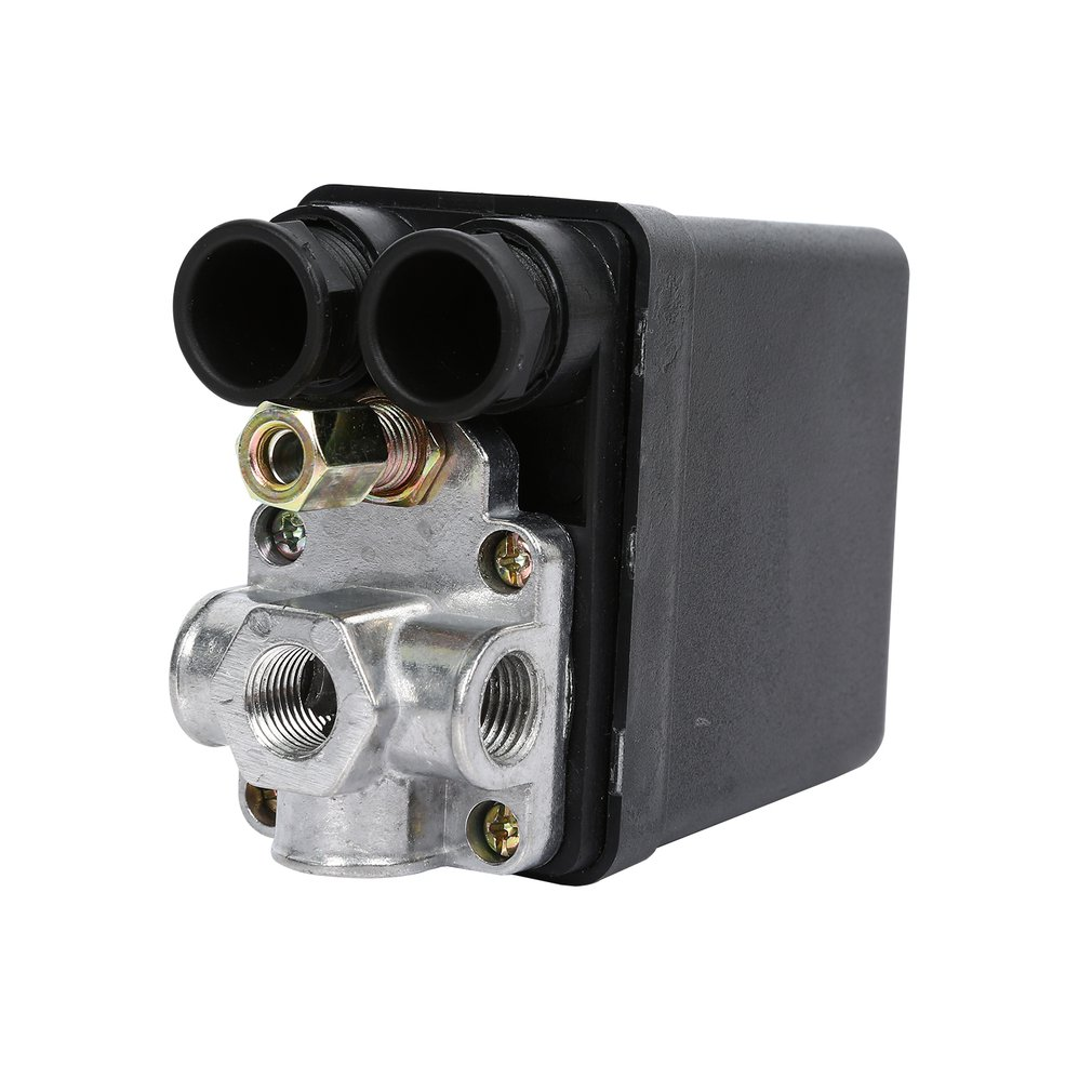 High Quality 1Pc Heavy Duty Air Compressor Pressure Switch Control Valve <font><b>90</b></font> PSI -<font><b>120</b></font> PSI Air Compressor Switch Control image
