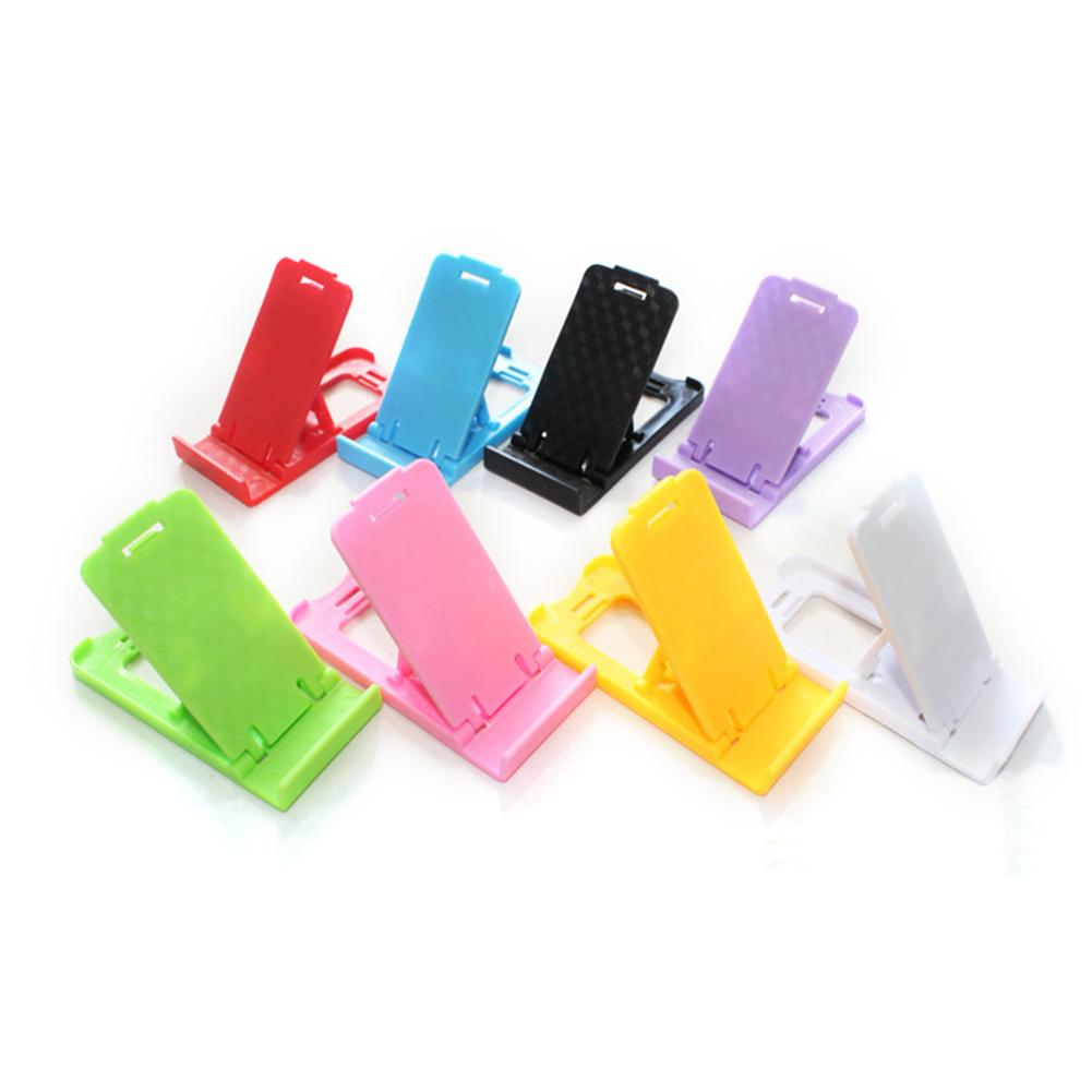 Mini Mobile Phone Holder Folding Plastic Stand Holder For Mobile Phone Tablet PC Bracket Accessories