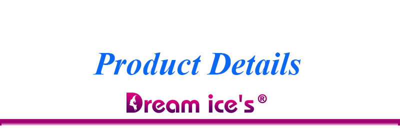 para mulheres sonho gelo 6 pçs lote