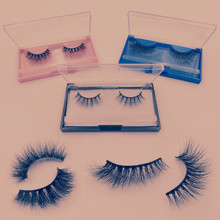 3d 3D Mink Hair False Eyelashes fluffy mink lashes natrual long false eyelashes dramatic faux  make up