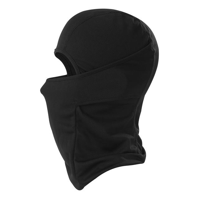 Motorcycle Balaclava Full Face Cover Warmer Windproof Breathable Motorbike Motocross Cycling Biker Cycling Anti-UV Men Helmet 2