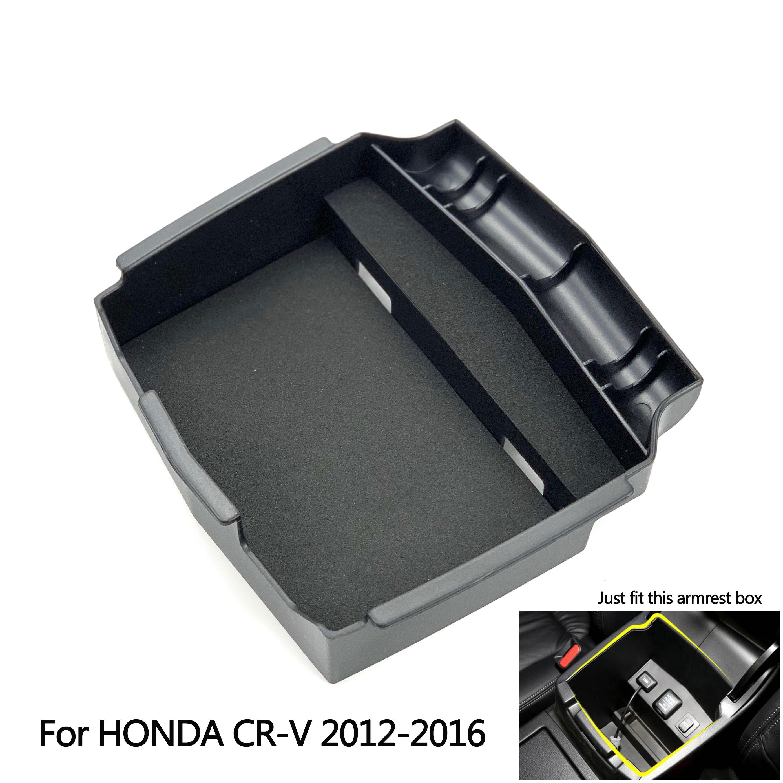 Storage Box Organizer Holder Center Console Armrest For CRV 2012-2016 Automatic