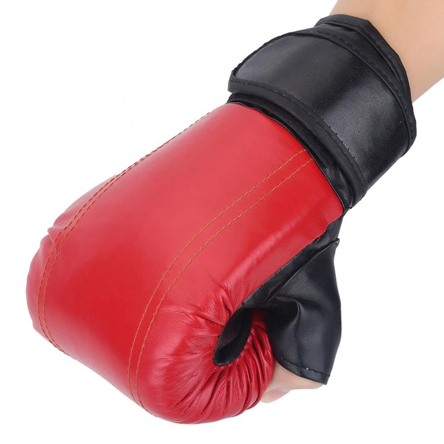 Punching Gloves and Fitness Training Red/&Black 1 Pair of 12oz Adult  Boxing