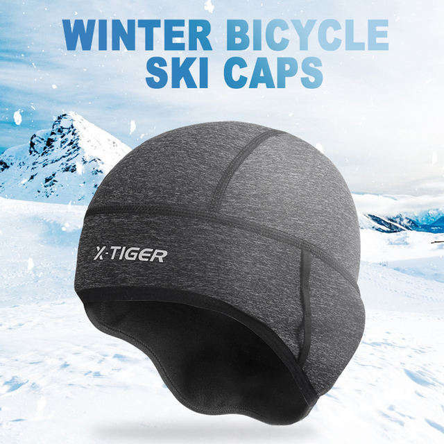 Warm Fleece Cycling Caps Waterproof Bike