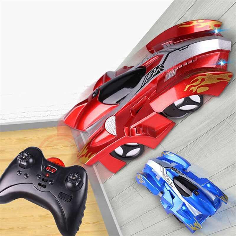 Mini araba oyuncak çocuklar için RC duvar tırmanma modeli tuğla kablosuz elektrikli uzaktan kumanda Drift yarışı oyuncaklar bebek çocuklar için RC araba