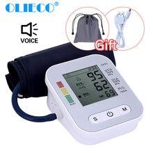 OLIECO-Monitor de presión Arterial automático USB, medidor de tonómetro portátil, esfigmomanómetro de presión Arterial, brazo Digital