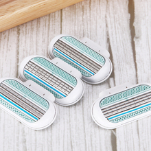 Razor-Blades Shaver Replacement-Head Gillette Venus Beauty Safety Women for 3-Layer Female