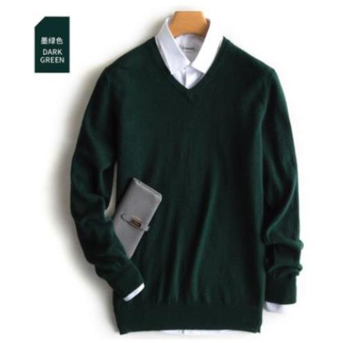Cashmere Cotton Blend Pullover Men Sweater 2020 Autumn Winter Man Clothes Jersey Sueter Hombre Pull Homme Sweter Mens Jumper 6