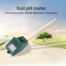 2 в 1 грунтовый гигрометр с двойным зондом тестер почвы садовая влага Почва PH светильник измеритель интенсивности почвы тестер PH гигрометр инструменты
