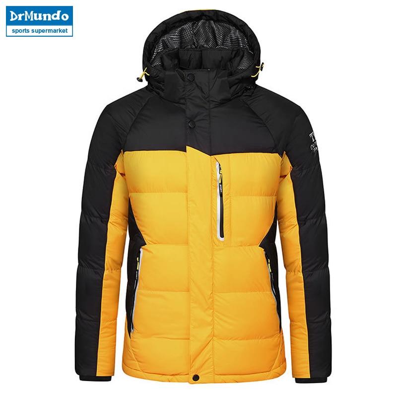 Hiver snowboard veste hommes neige vêtements veste snowboard Ski veste chaud coupe-vent respirant hommes vêtements de Ski coton veste marque