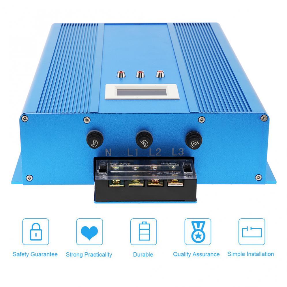 Dispositif d'économie d'électricité industriel Intelligent avec tueur de facture d'électricité de indicateur LED jusqu'à 30% pour l'usine de Restaurant - 3