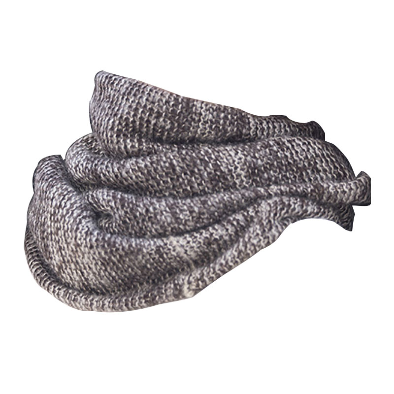 Winter Warm Fashion Neck Warmer Outdoor Windproof Soft Knit Infinity Scarf For Women Men Knitted Scarf Loop Scarf