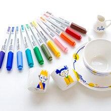 Pennarello in ceramica 12 colori 1.4mm proiettile Monami 480 per disegno fai da te pittura GRAFFITI scuola di cancelleria coreana regalo per bambini A6470
