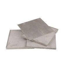1Pc Titanium Titan Ti Alloy Plate 0.5 0.8 1.0 1.2 1.5 2 2.5 3 3.5 4 5 mm Thickness TC4/GR5 For Manufacturing Gas aerospace