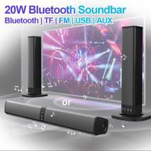 Bluetooth-Speaker Usb Soundbar Radio Fm 20W AUX PC TV TF