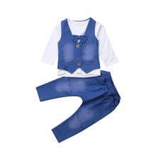 Infant Clothing For Baby Girls Clothes Set 2019 Autumn Winter Baby Boys Clothes T-shirt+Pant Costume Outfit Suit Newborn Clothes стоимость