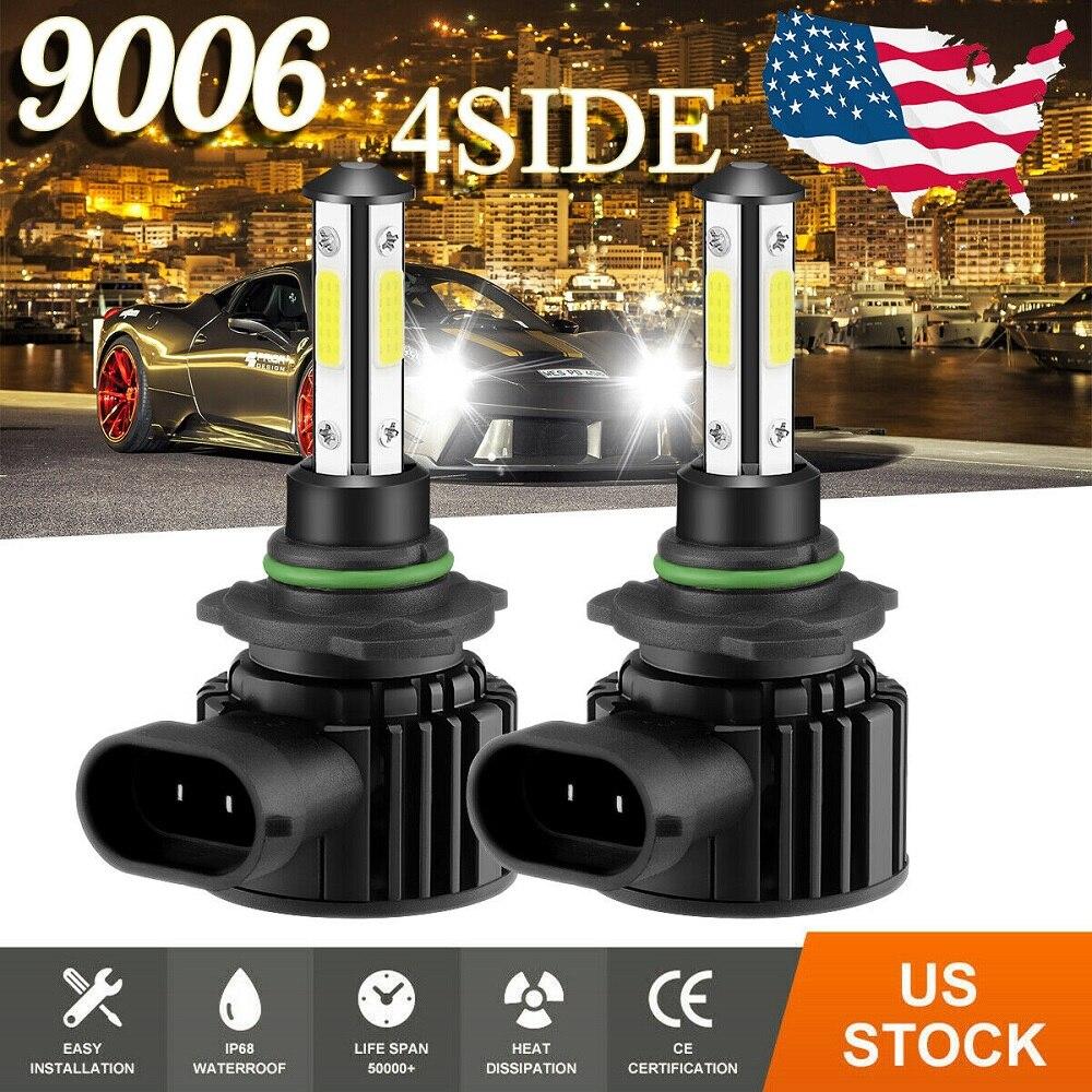 2 шт. CarTnT супер яркие автомобильные головные фары лампы H7 светодиодный H9 HB3 9005 HB4 9006 H11 H8 светодиодный фар 200 Вт 20000LM 6500K 12V 8000K лампа