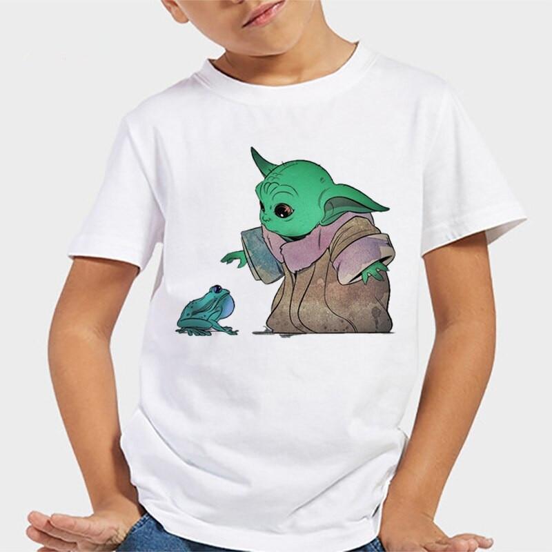 Star Wars Boys/' The Child Baby Yoda Grogu Kids T-Shirt