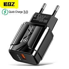18w carga rápida 3.0 carregador usb qc 3.0 4.0 plugue usb telefone/adaptador de carregador rápido para samsung a50 iphone xr 11 8 7 xiaomi huawei