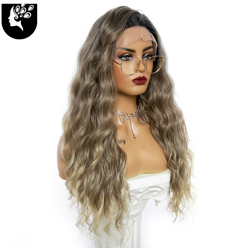 Sua beautylace frente perucas onda de cabelo