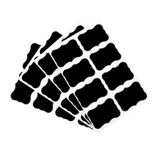 40pcs/pack Eight Kinds Of Pattern Stickers Black Sealer Three Selections Packaging Adhesive Sealing