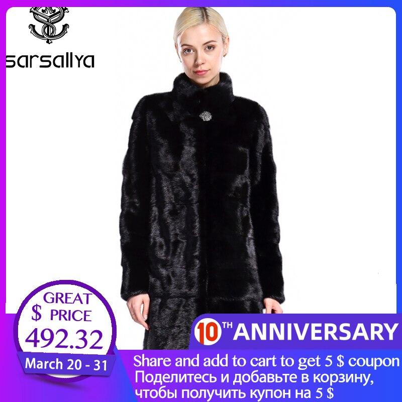 Casaco de vison real das mulheres casaco de pele de vison inverno natural casaco de pele feminino casaco de vison genuíno quente luxo rússia preto roupas 2020 novo