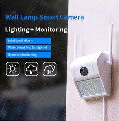 Xiaovv D6 Smart 1080P impermeable lámpara de pared cámara IP 180 ° panorámica de detección de visión nocturna Smart Baby Sleeping Monitor
