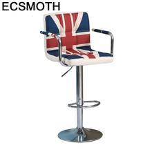Barstool Comptoir Sgabello Table Bancos Moderno Stoelen Fauteuil Sandalyesi Leather Cadeira Tabouret De Moderne Silla Bar Chair