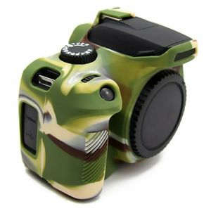 Image 4 - Silicone Armor Skin Case Body Cover Protector for Canon EOS 4000D 3000D Rebel T100 DSLR Camera ONLY