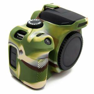Image 4 - Silikon zırh kılıf vücut kapak koruyucu için Canon EOS 4000D 3000D Rebel T100 DSLR kamera sadece