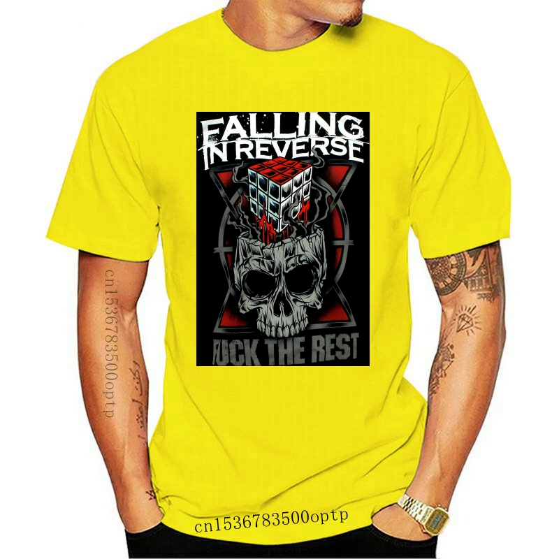 FALLING IN REVERSE Lost Vegas Juniors T SHIRT top S-M-L-XL New Official Top