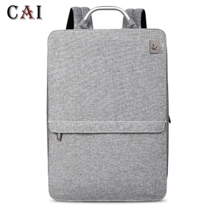 Image 2 - 2019 New Fashion Slim Laptop Waterproof 14 inch Laptop Backpack Women/Men Backpacks Travel Backpack bag men mini bookbag mochila