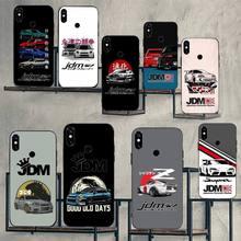 racing car JDM cartoon Phone Case For Xiaomi Redmi note 7 8 9 t max3 s 10 pro lite