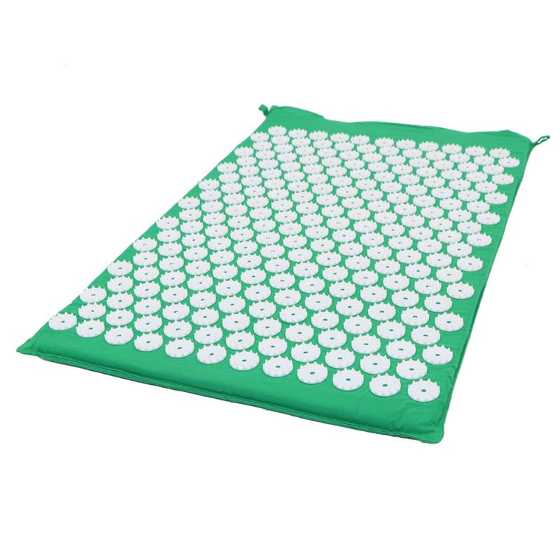 Acupressure Massage Mat with Pillow set to body Relaxation to Release Stress and Tension 8