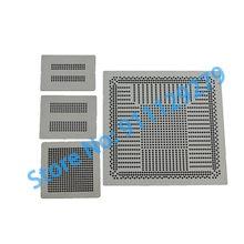 4pcs calor direto ps4 estêncil cxd90025g, cxd90026g, k4g41325fc gddr5 ram, k4b2g1646e ddr3 sdram ps4 stencils para reballing