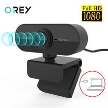 Webcam 1080P Microphone Computer Laptop Mini Camera Youtube Desktop Mac Full-Hd Skype